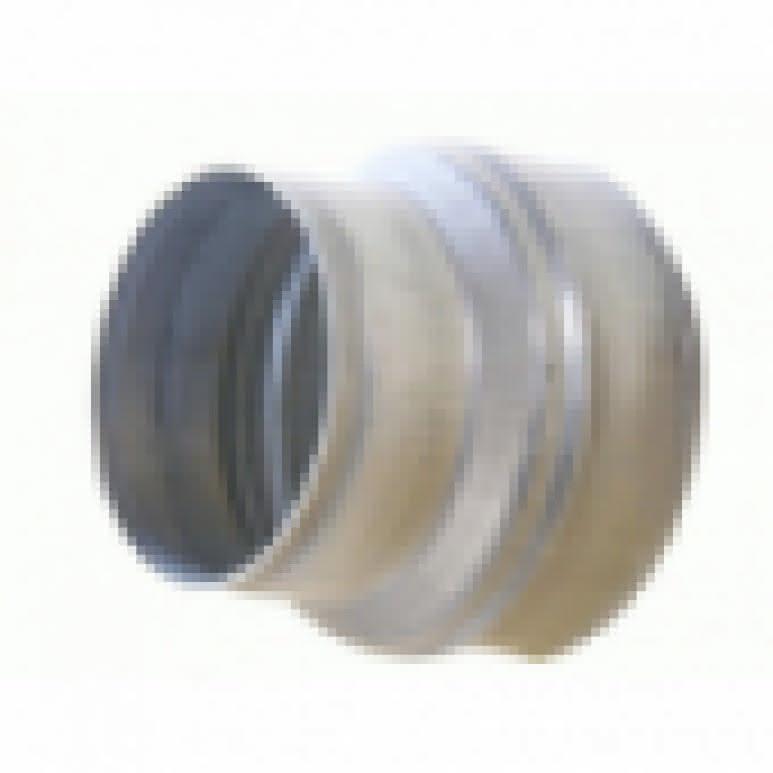 T-Stück Metall 3x250mm - 90-Grad - Stahlblech feuerverzinkt