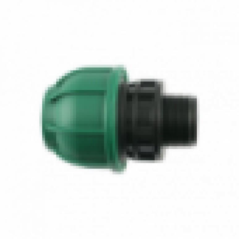 PE Kupplung 25mm Bogen 90° - schraubbar