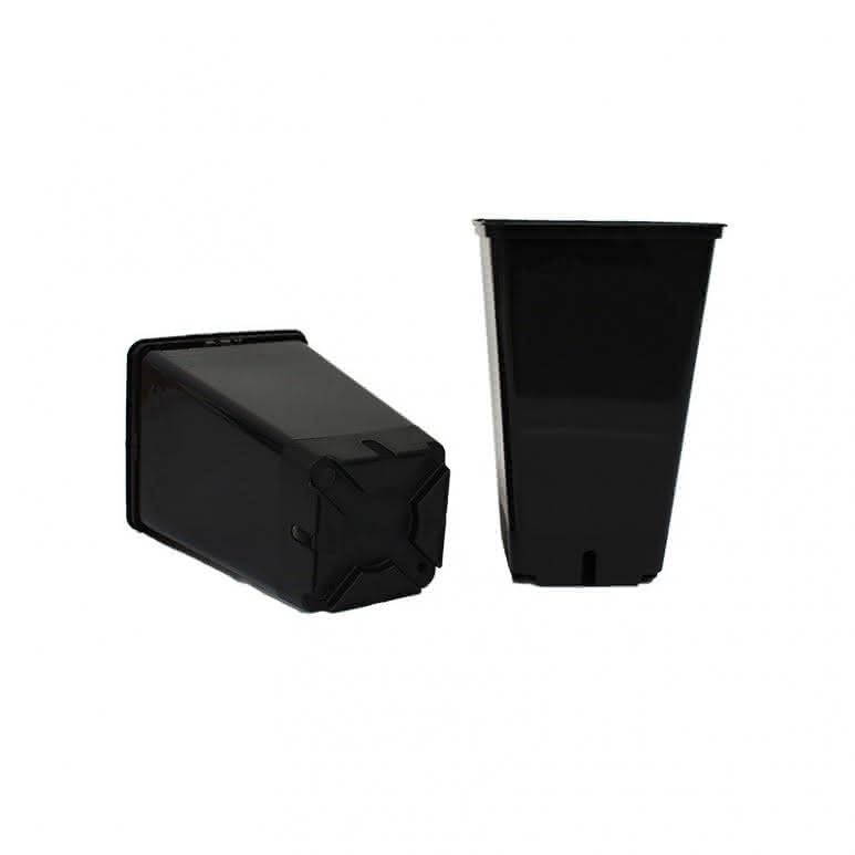 Topf / Pflanzcontainer 12x12x20cm eckig - 2 Liter