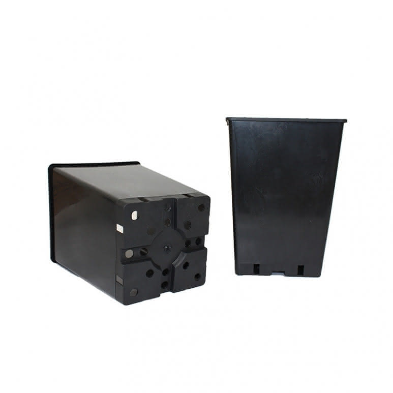 Topf / Pflanzcontainer 17x17x25cm eckig - 6 Liter