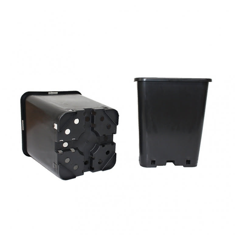 Topf / Pflanzcontainer 18x18x23cm eckig - 6 Liter
