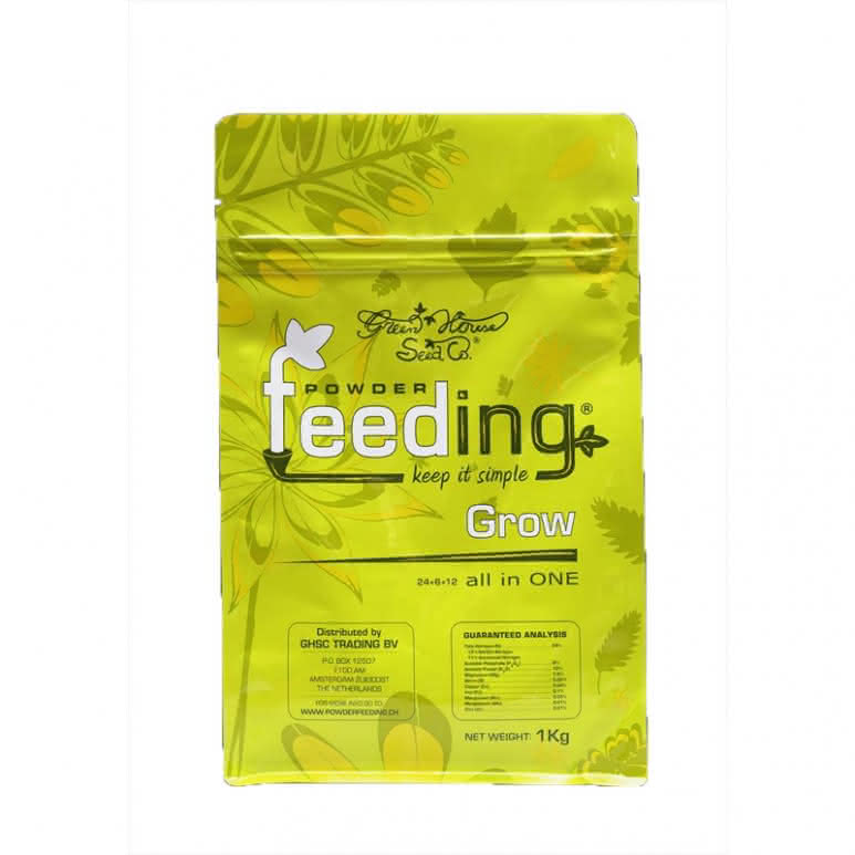 Greenhouse Powder-Feeding Grow 125g - Wachstumsdünger