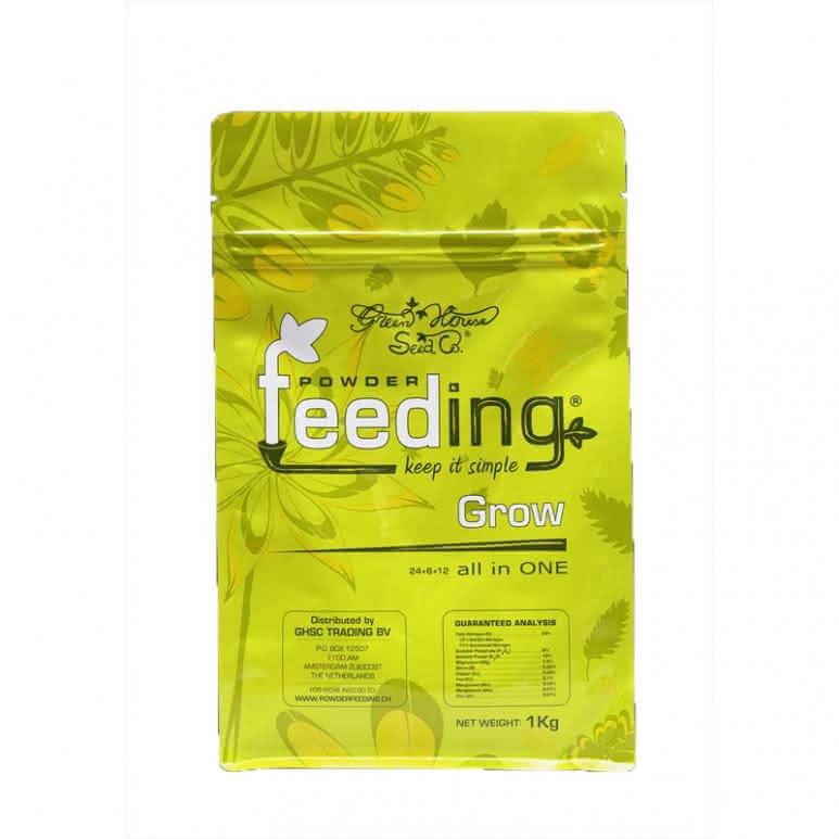 Greenhouse Powder-Feeding Grow 2,5kg - Wachstumsdünger