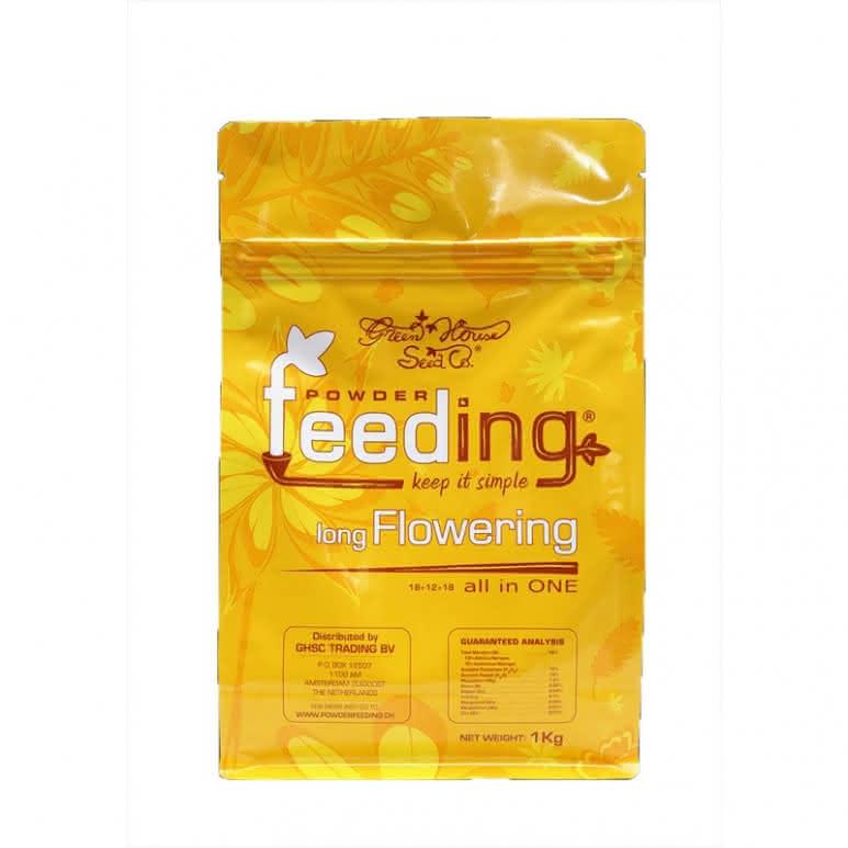 Greenhouse Powder-Feeding long Flowering 1kg - Blütedünger