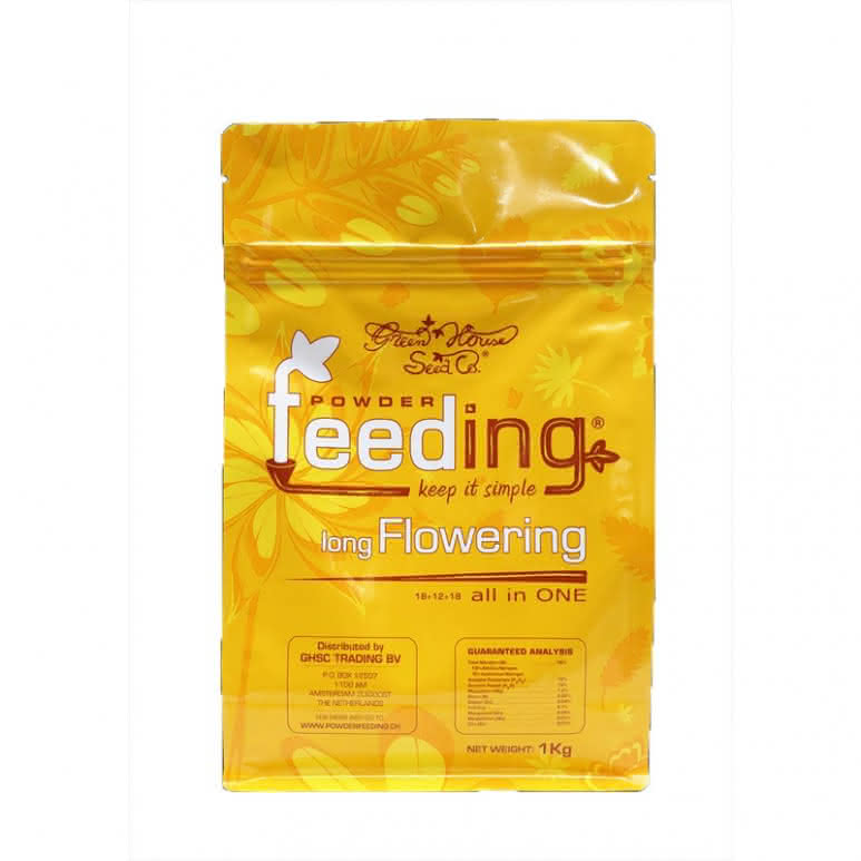 Greenhouse Powder-Feeding long Flowering 125g - Blütedünger