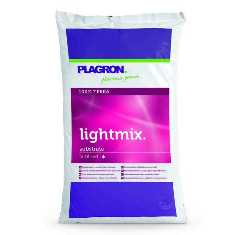 Plagron Light-Mix 50 Liter - Erdsubstrat mit Perlite