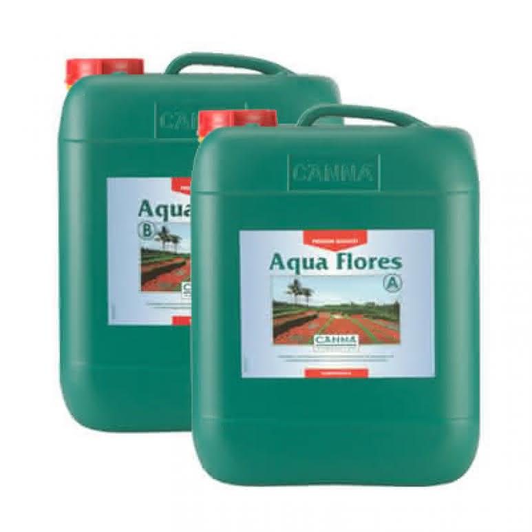 Canna Aqua Flores A + B je 10 Liter - Blütedünger