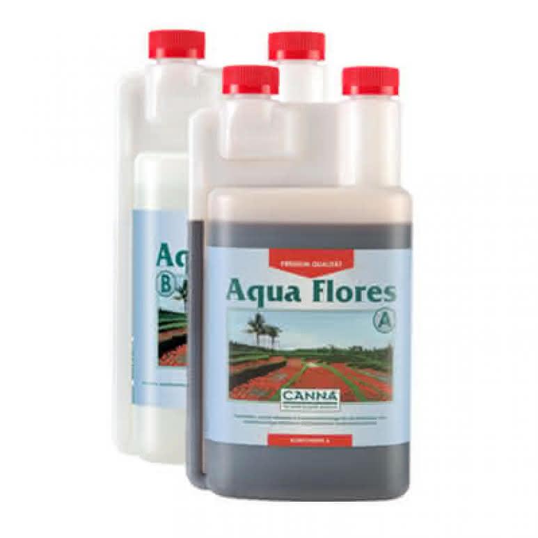 Canna Aqua Flores A + B je 1 Liter - Blütedünger