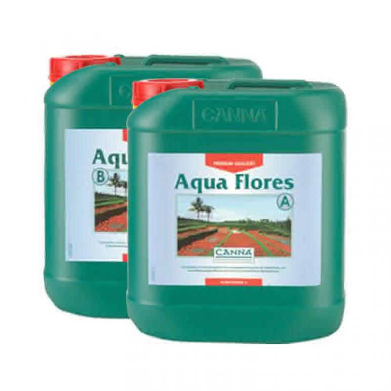 Canna Aqua Flores A + B je 5 Liter - Blütedünger