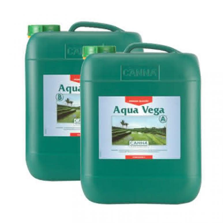 Canna Aqua Vega A + B je 10 Liter - Wachstumsdünger