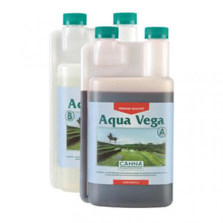 Canna Aqua Vega A + B je 1 Liter - Wachstumsdünger