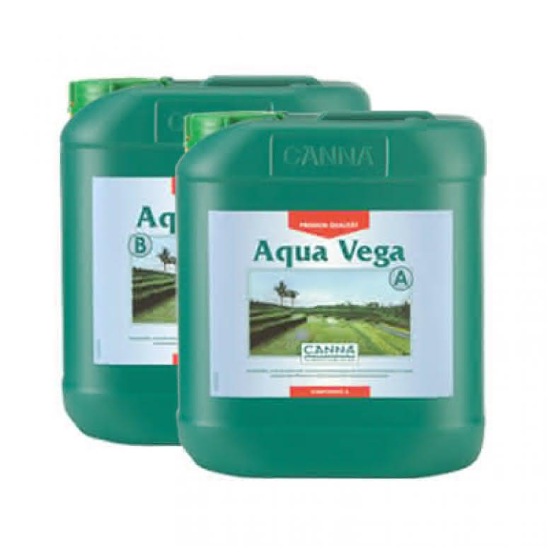 Canna Aqua Vega A + B je 5 Liter - Wachstumsdünger