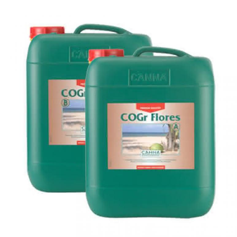 Canna COGr Flores A + B je 10 Liter - Blütedünger