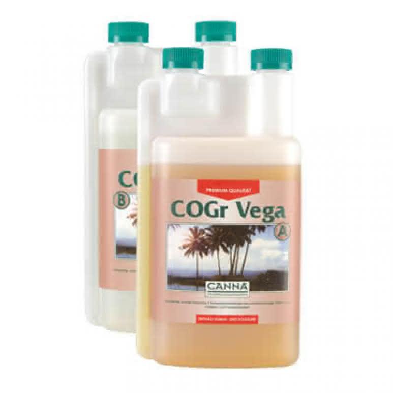Canna COGr Vega A + B je 1 Liter - Wachstumsdünger