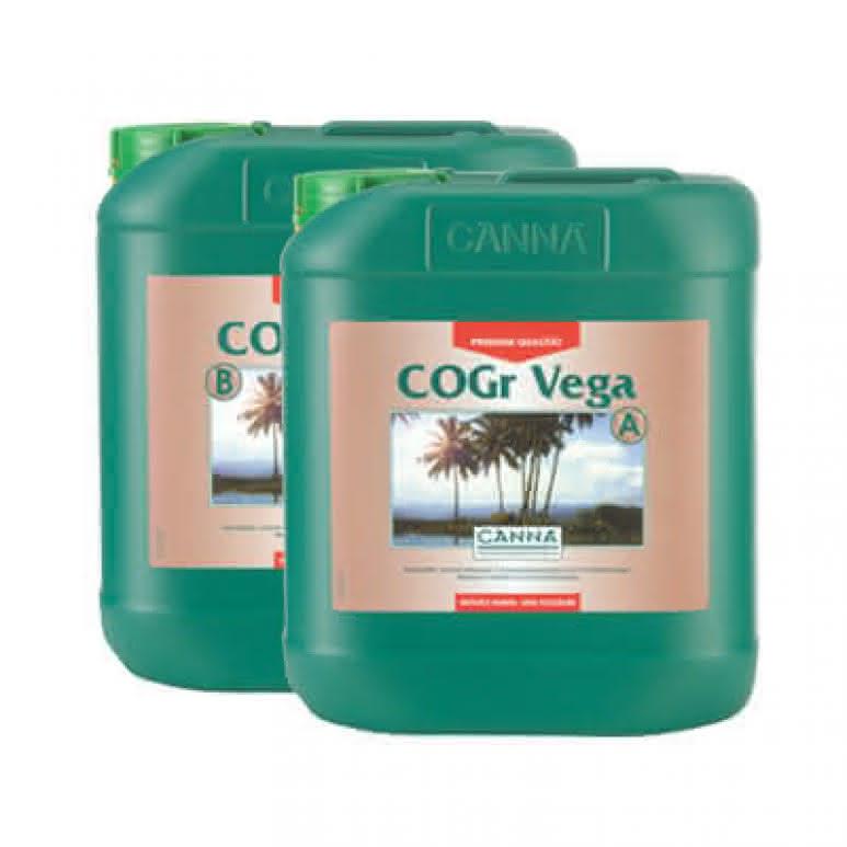 Canna COGr Vega A + B je 5 Liter - Wachstumsdünger