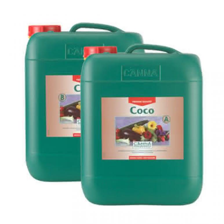 Canna Coco A + B je 10 Liter - Grunddünger