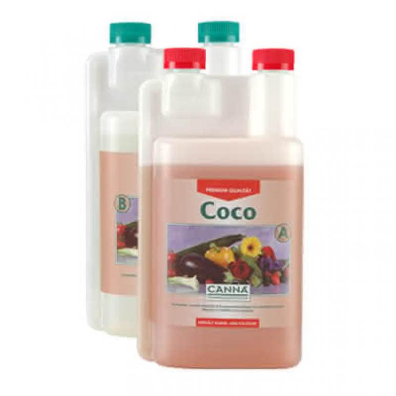 Canna Coco A + B je 1 Liter - Grunddünger