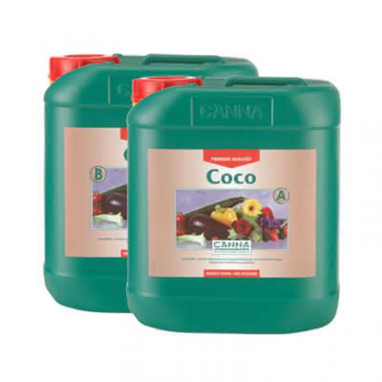 Canna Coco A + B je 5 Liter - Grunddünger