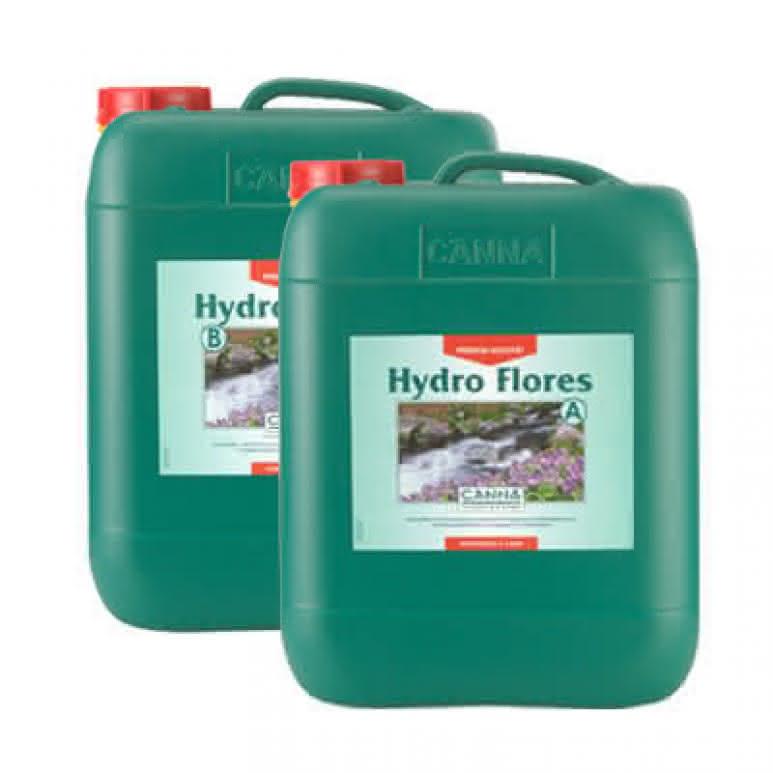 Canna Hydro Flores A + B je 10 Liter - Blütedünger