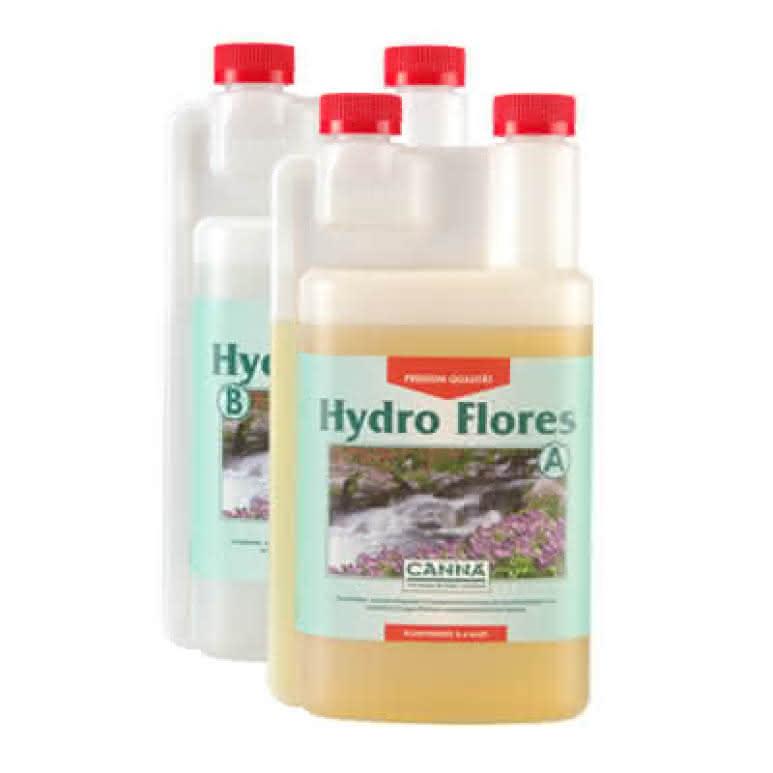 Canna Hydro Flores A + B je 1 Liter - Blütedünger