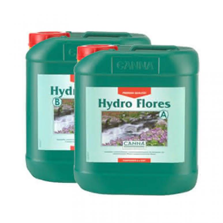 Canna Hydro Flores A + B je 5 Liter - Blütedünger