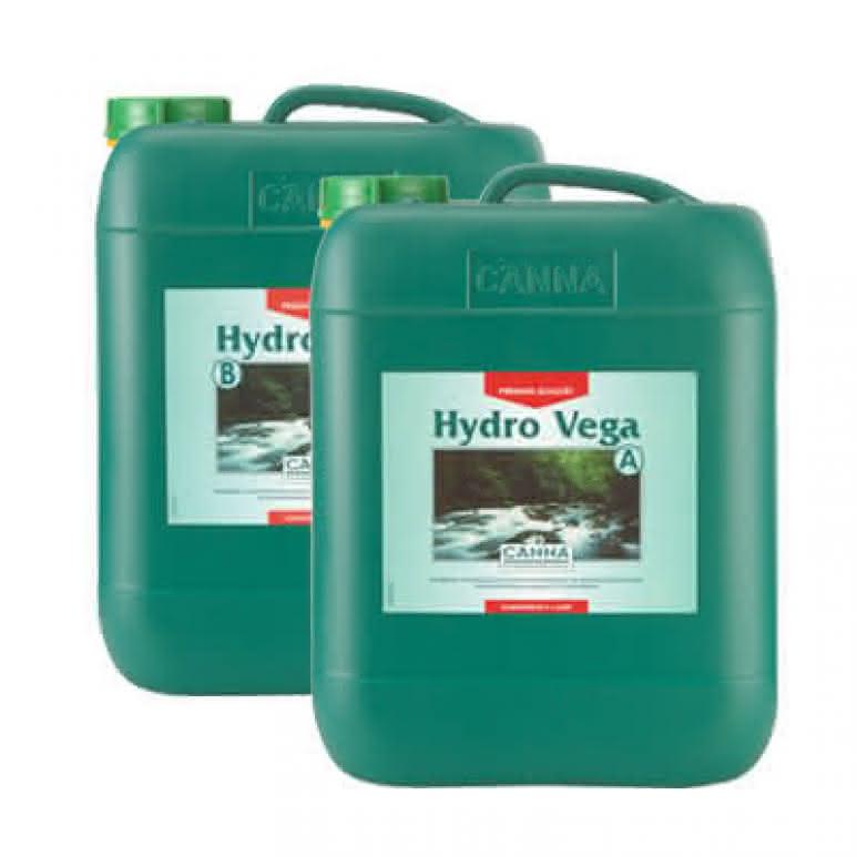 Canna Hydro Vega A + B je 10 Liter - Wachstumsdünger