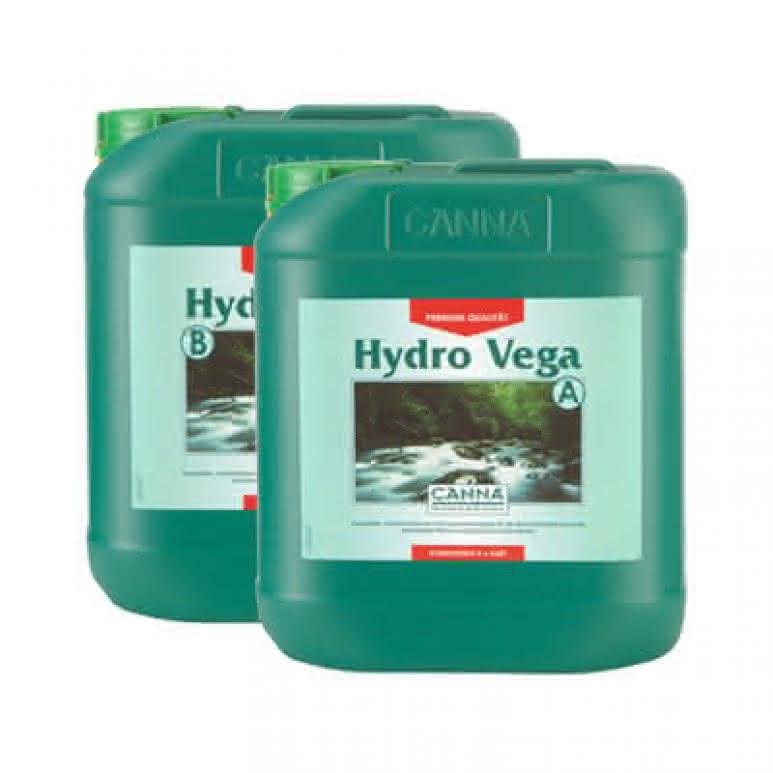 Canna Hydro Vega A + B je 5 Liter - Wachstumsdünger