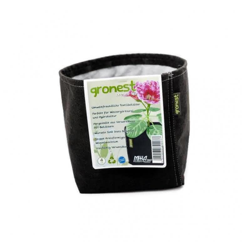 Gronest Stofftopf 4 Liter - Ø150mm Pflanzenbehälter