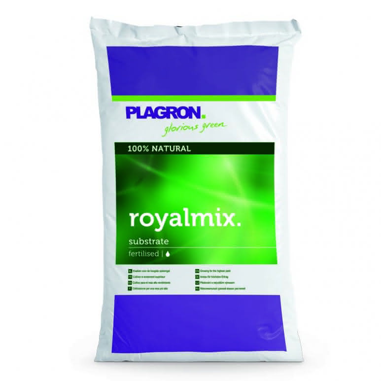 Plagron RoyalMix 50 Liter - Erdsubstrat mit Perlite