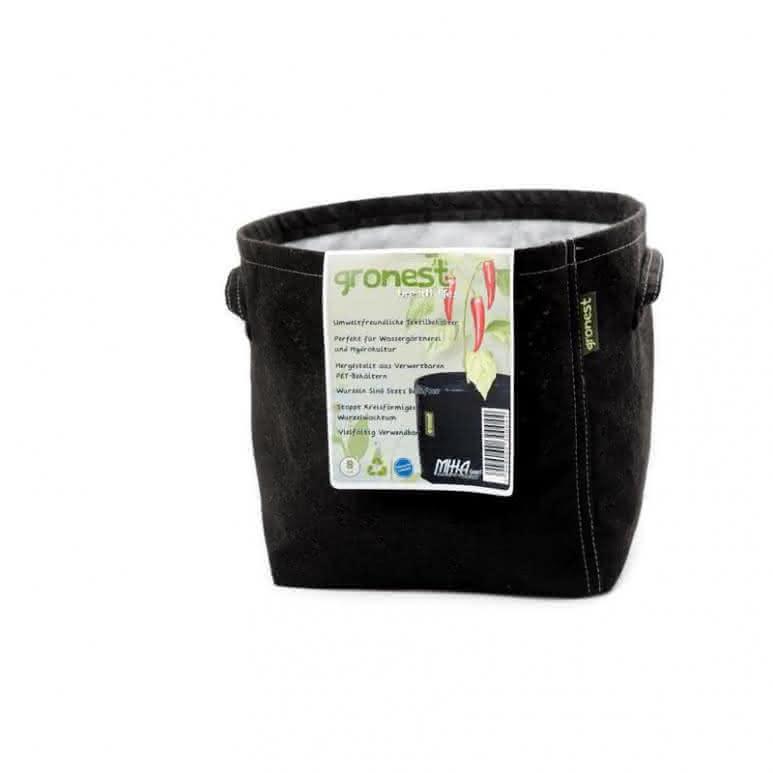 Gronest Stofftopf 8 Liter - Ø190mm Pflanzenbehälter