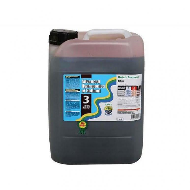 Advanced Hydroponics Micro 10 Liter - Basisdünger