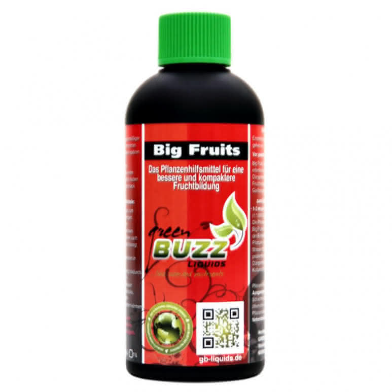 Green Buzz Liquids GBL Big Fruits Standard 100ml - Blütenstimulator organisch