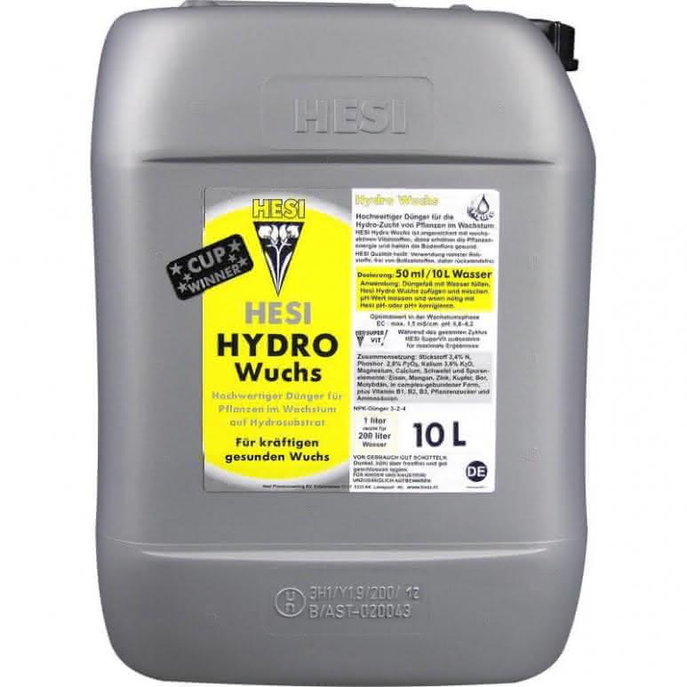 HESI Hydro Wuchs 10 Liter
