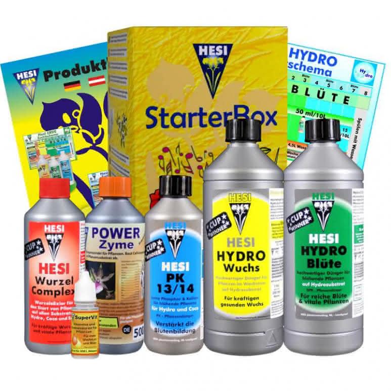 HESI Starterbox Hydro - 3110ml Düngerset