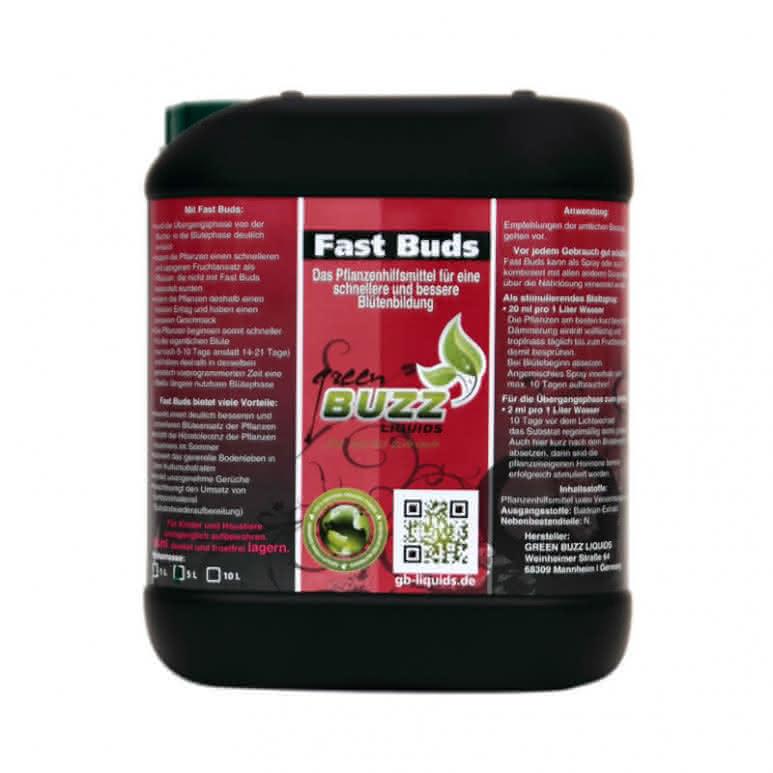 Green Buzz Liquids GBL Fast Buds 5 Liter - Pflanzenhilfsmittel organisch