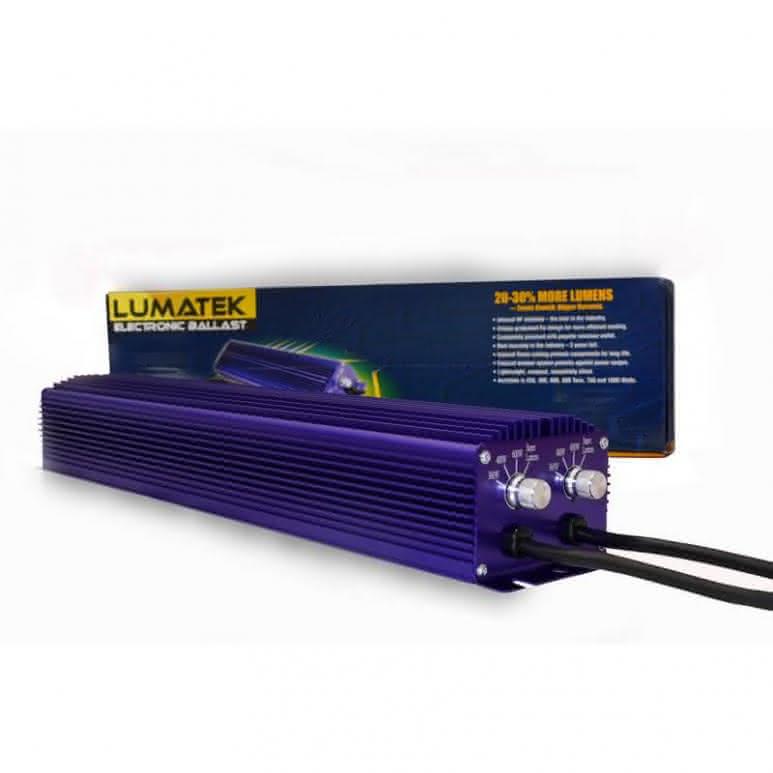 Lumatek NXE twin 2x600 Watt digitales Vorschaltgerät - EVG dimmbar