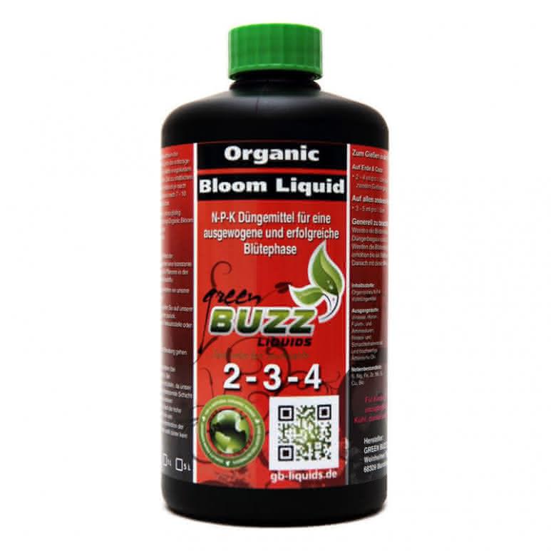 Green Buzz Liquids GBL Organic Bloom Liquid 500ml - Blütedünger organisch
