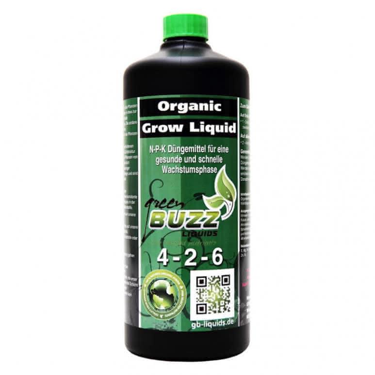 Green Buzz Liquids GBL Organic Grow Liquid 1 Liter - Wachstumsdünger organisch