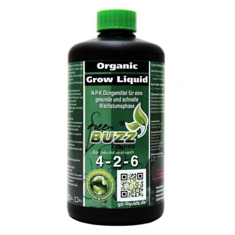 Green Buzz Liquids GBL Organic Grow Liquid 500ml - Wachstumsdünger organisch