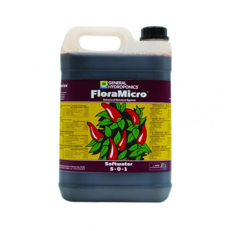 GHE Flora Micro Softwater 5 Liter