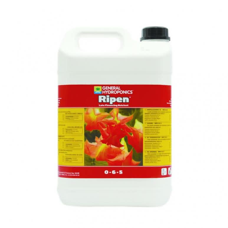 General Hydroponics GHE Ripen 5 Liter - Volldünger für die Endblüte