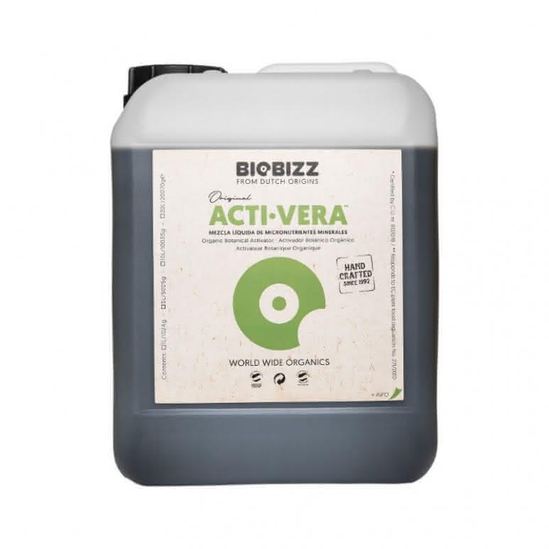 BioBizz® Acti-Vera 5 Liter - Pflanzenstärkungsmittel