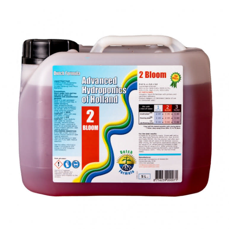 Advanced Hydroponics Bloom 5 Liter - Basisdünger