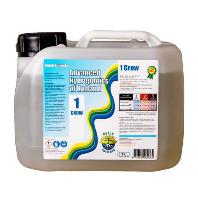 Advanced Hydroponics Grow 5 Liter - Basisdünger