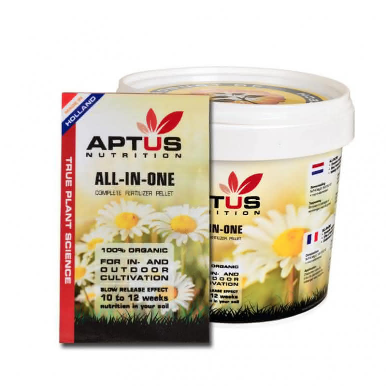 Aptus All-In-One dry - Basisnährstoffe Granulatdünger