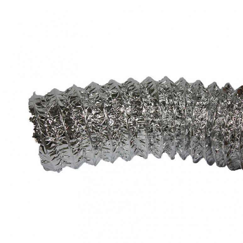 Luftschlauch Aluconnect 254mm - Aluminiumbeschichtet