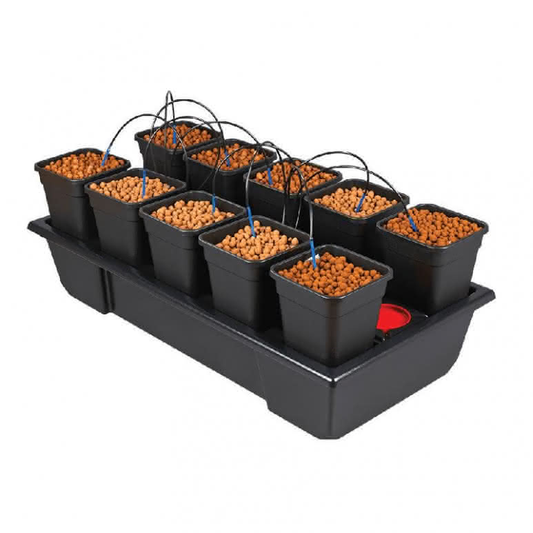 Atami Wilma System small wide 10x 6 Liter - 120x60x20cm