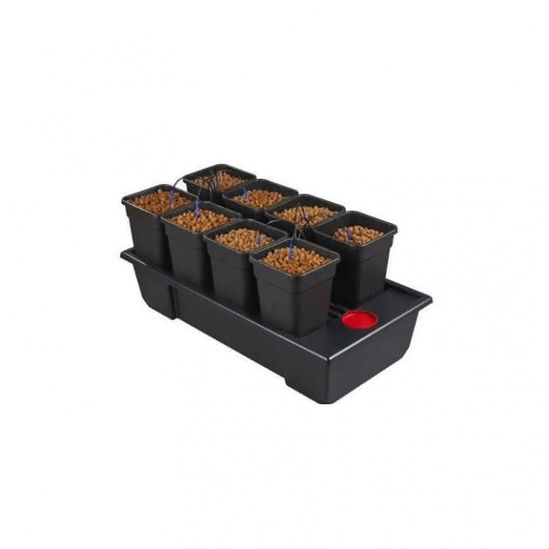Atami Wilma System small wide 8x 11 Liter - 120x60x20cm