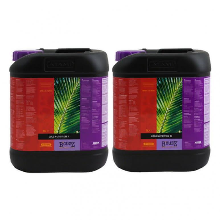 B-CUZZ Coco Dünger A + B je 5 Liter - Grunddünger