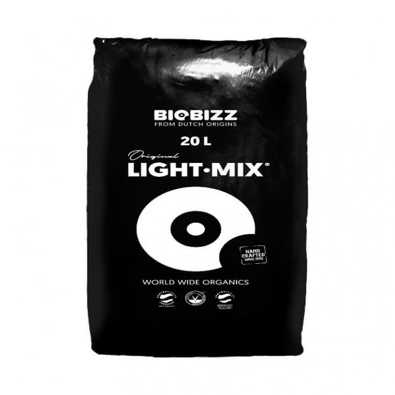 BioBizz® Light-Mix 20 Liter - Erdsubstrat mit Perlite